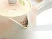 萩焼 萩粉引桃